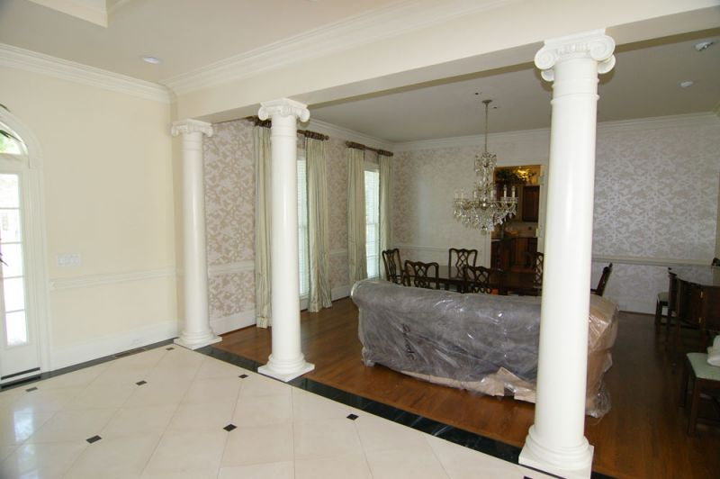 Rocky russell builders for Columns interior